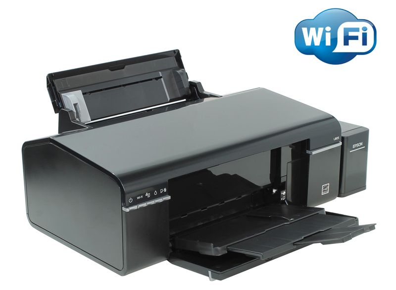 Принтер Epson STYLUS Photo L805 (A4, 38 стр/мин, 5760 dpi, USB2.0, WiFi, печать на CD/DVD) без чернил