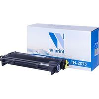 Картридж NV-Print аналог Brother TN-2075 для HL-2030R /2040 /2070NR /FAX-2920R /2825 /DCP-7010R /7025 /MFC-7420R /7820NR (2500k)