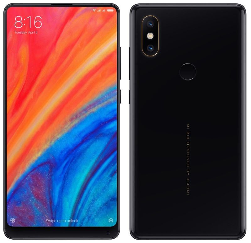 Смартфон Xiaomi Mi Mix 2S Global Version, 6GB/64GB