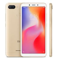 Смартфон Xiaomi Redmi 6 Global Version, 3GB/64GB, Золотой