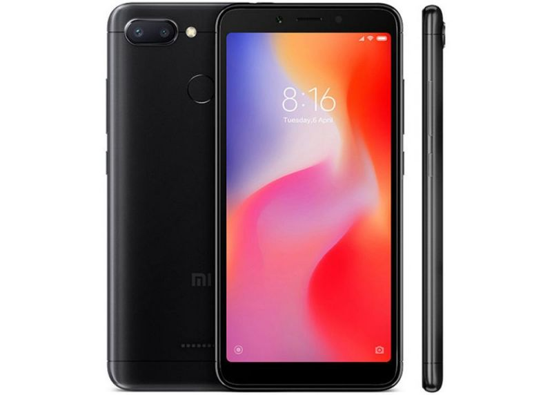 Смартфон Xiaomi Redmi 6 Global Version, 4GB/64GB